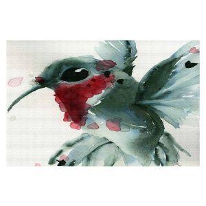 Decorative Floor Coverings   Dawn Derman - Christmas Hummingbirds II