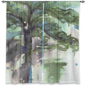 Decorative Window Treatments | Dawn Derman - Evergreen | Nature Tree