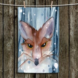 Unique Bathroom Towels | Dawn Derman - Fox Evening Snow