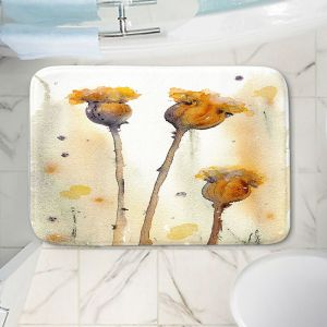 Decorative Bathroom Mats | Dawn Derman - Gone to Seed | Nature Flower