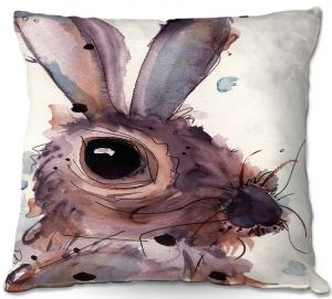 Decorative Outdoor Patio Pillow Cushion | Dawn Derman - Hare
