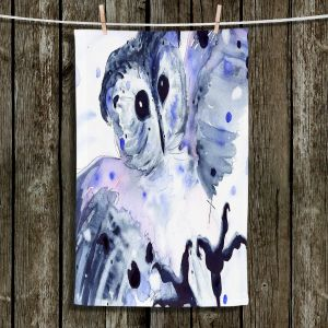 Unique Bathroom Towels | Dawn Derman - Midnight Owl