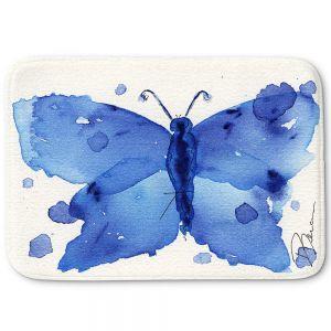 Decorative Bathroom Mats | Dawn Derman - Moth II