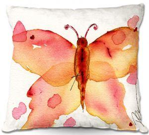 Throw Pillows Decorative Artistic | Dawn Derman's Moth I