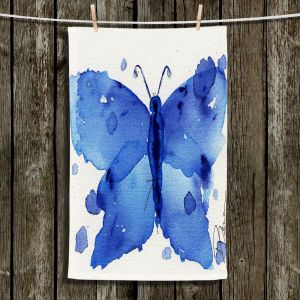 Unique Hanging Tea Towels | Dawn Derman - Moth II | Butterfly