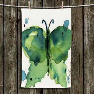 Unique Hanging Tea Towels | Dawn Derman - Moth III | Butterfly