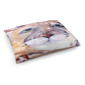 Decorative Dog Pet Beds | Dawn Derman - Mountain Lion | Nature Cougar Puma