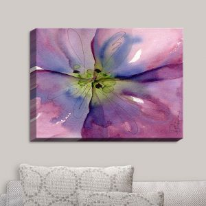 Decorative Canvas Wall Art | Dawn Derman - Pansy II