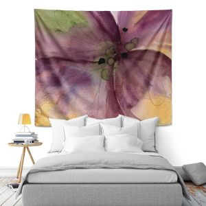 Artistic Wall Tapestry | Dawn Derman - Pansy III