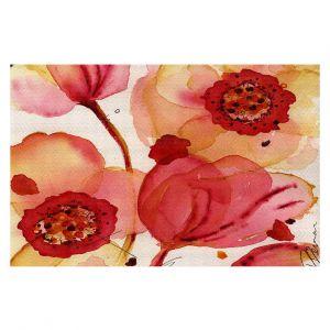 Decorative Floor Coverings | Dawn Derman - Poppies