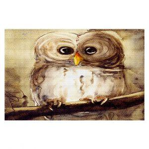 Decorative Floor Coverings | Dawn Derman Redbird Cottage Owl