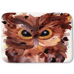 Decorative Bathroom Mats | Dawn Derman - Screech Owl