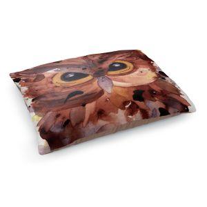 Decorative Dog Pet Beds | Dawn Derman - Screech Owl