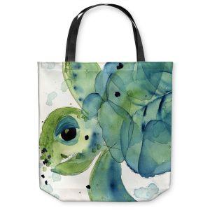 Unique Shoulder Bag Tote Bags   Dawn Derman - Sea Turtle