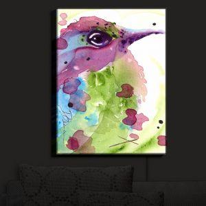 Nightlight Sconce Canvas Light | Dawn Derman - Spring Dreaming Bird