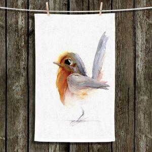Unique Hanging Tea Towels | Dawn Derman - Spring Step | Animals Birds Nature
