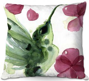 Throw Pillows Decorative Artistic | Dawn Derman - Summer Garden I