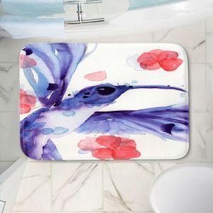 Decorative Bathroom Mats | Dawn Derman - Summer Garden III