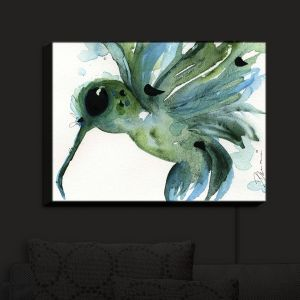 Nightlight Sconce Canvas Light | Dawn Derman - Summer