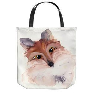 Unique Shoulder Bag Tote Bags   Dawn Derman - Sweet Fox   Animals Nature