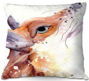 Throw Pillows Decorative Artistic | Dawn Derman - The Fox | Nature