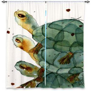 Decorative Window Treatments | Dawn Derman Turtle Crush
