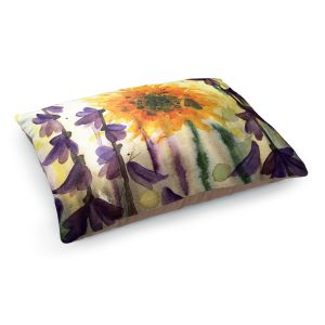 Decorative Dog Pet Beds | Dawn Derman - Wildflowers