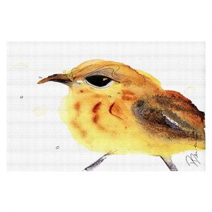 Decorative Floor Coverings   Dawn Derman - Yellow Warbler   Nature Bird