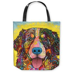 Unique Shoulder Bag Tote Bags | Dean Russo Bernese Mountain Dog