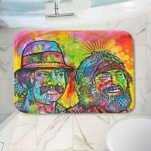 Decorative Bathroom Mats | Dean Russo - Cheech N Chong