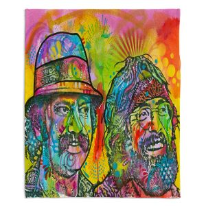 Decorative Fleece Throw Blankets | Dean Russo - Cheech N Chong