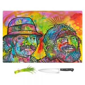 Artistic Kitchen Bar Cutting Boards | Dean Russo - Cheech N Chong