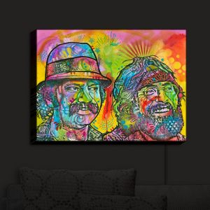 Nightlight Sconce Canvas Light | Dean Russo - Cheech N Chong