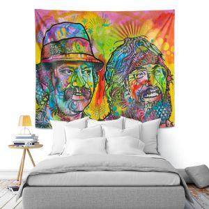 Artistic Wall Tapestry | Dean Russo Cheech N Chong