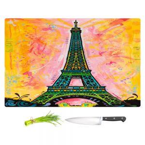 Artistic Kitchen Bar Cutting Boards | Dean Russo - Eiffel Ali Tower