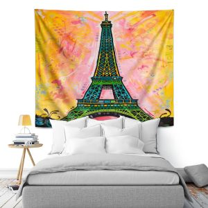 Artistic Wall Tapestry | Dean Russo Eiffle Ali Tower