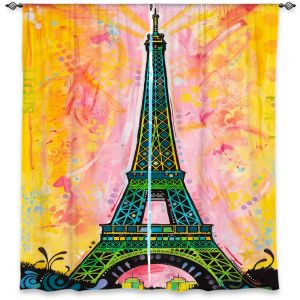 Decorative Window Treatments | Dean Russo Eiffle Ali Tower