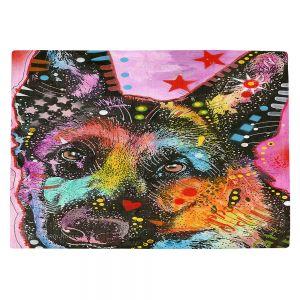 Countertop Place Mats   Dean Russo - German Shepherd Dog 25