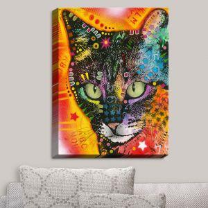 Decorative Canvas Wall Art   Dean Russo - Intent Cat