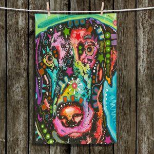 Unique Hanging Tea Towels | Dean Russo - Labrador Retriever Dog 19 | Animals Dog