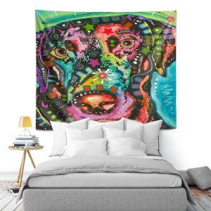 Artistic Wall Tapestry   Dean Russo - Labrador Retriever Dog 19