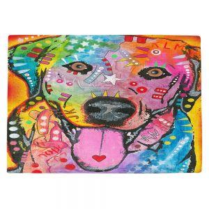 Countertop Place Mats | Dean Russo - Loving Joy Labrador Retriever Dog