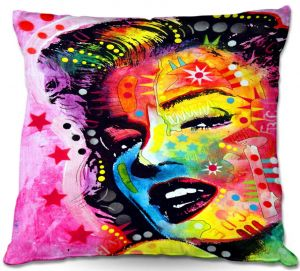 Decorative Outdoor Patio Pillow Cushion | Dean Russo - Marilyn Monroe II