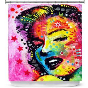 Premium Shower Curtains | Dean Russo - Marylin Monroe II