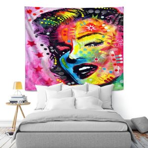 Artistic Wall Tapestry | Dean Russo - Marylin Monroe II