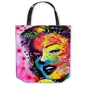 Unique Shoulder Bag Tote Bags | Dean Russo - Marylin Monroe II