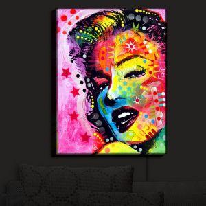 Nightlight Sconce Canvas Light | Dean Russo - Marilyn Monroe II