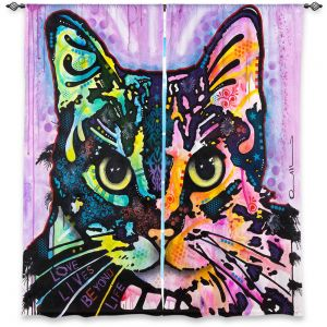 Decorative Window Treatments | Dean Russo Maya Cat
