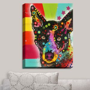Decorative Canvas Wall Art   Dean Russo - Now Dog   Animals Dog
