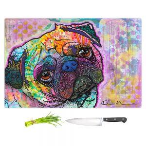 Artistic Kitchen Bar Cutting Boards | Dean Russo - Pug Love Dog